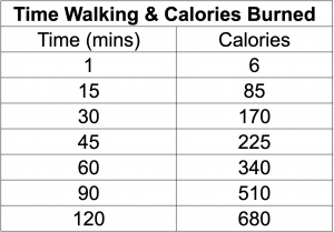 How to Burn 500 Calories a Day Walking