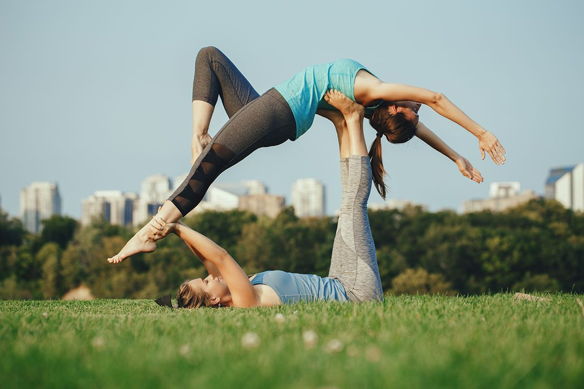 10 Easy Beginner Yoga Poses for Two | Fit Active Living