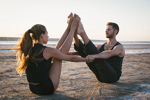 Beginner Yoga Poses for Two