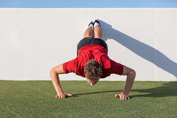 how to get better at pushups fast