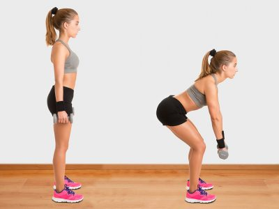 Master the Dumbbell Sumo Deadlift