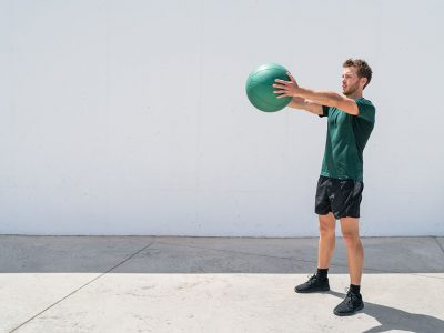 Medicine Ball Overhead Throws
