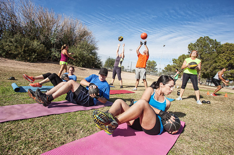CrossFit Boot Camp Workouts