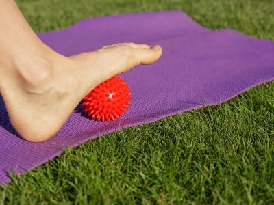 How to Use a Massage Ball for Foot Pain