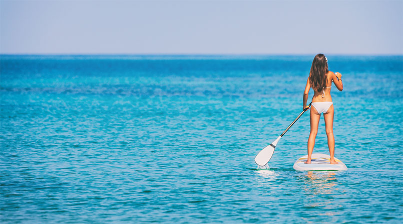 How To Paddleboard In The Ocean